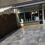 Tuin met veranda Katwijk
